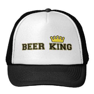 Rey Hat de la cerveza con la corona Gorra