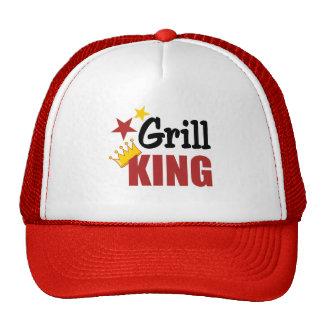 Rey Hat de la parrilla Gorras