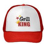 Rey Hat de la parrilla Gorros