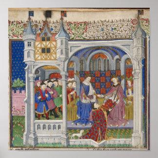 Rey Henry VI y Margaret de Anjou: Presentación Póster