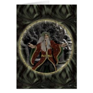 Rey Holiday Card del acebo Felicitación