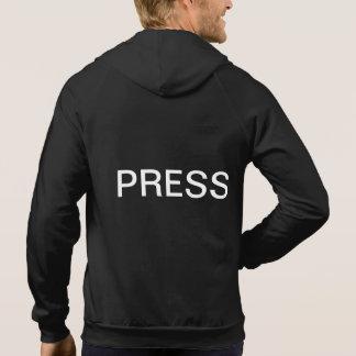 Rey Hoodie de la prensa de Clarion Camisetas