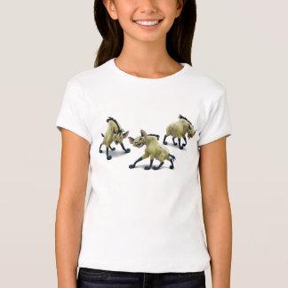 Rey Hyenas Disney del león Remera