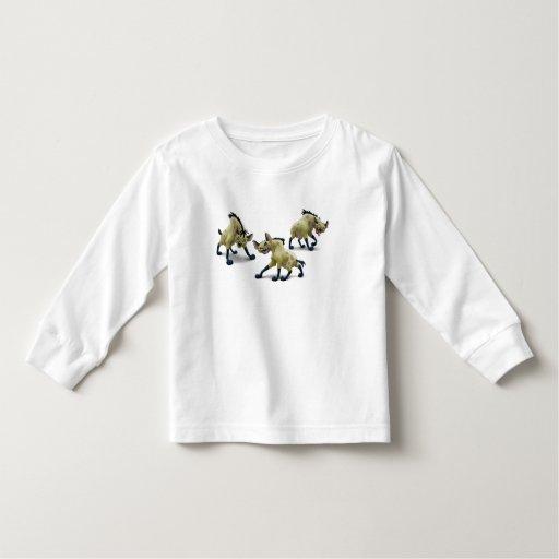 Rey Hyenas Disney del león Tee Shirt