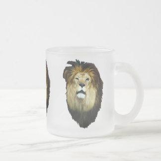 Rey imperfecto taza de cristal