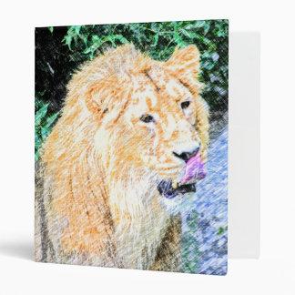 """rey incompleto del león carpeta 1"""""""