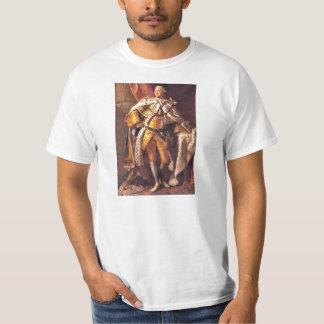 Rey inglés George III por el estudio de Allan Playera