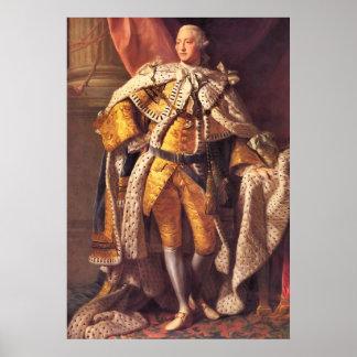 Rey inglés George III por el estudio de Allan Rams Impresiones