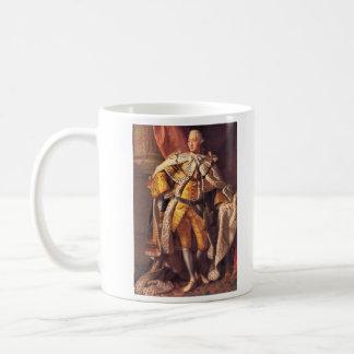 Rey inglés George III por el estudio de Allan Taza De Café