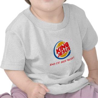 Rey Jesús (moderno): Parodia del restaurante Camisetas