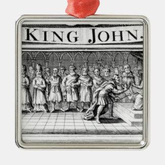 Rey Juan entrega su corona Adornos De Navidad