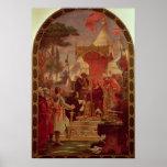 Rey Juan Granting la Carta Magna en 1215, 1900 Posters