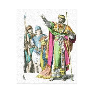 Rey judío antiguo impresion de lienzo