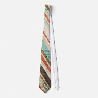 Rey Julian Vintage Stripes Tie Corbata Personalizada