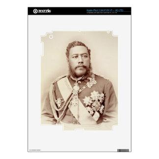 Rey Kalakaua (1836-91), último c19th (foto de la s Pegatinas Skins Para iPad 3