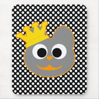 Rey Kat Orange - gris Alfombrillas De Raton