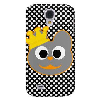 Rey Kat Orange - gris Funda Para Galaxy S4
