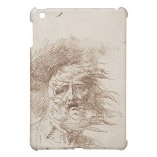 Rey Lear en la tormenta (tinta de la pluma y del b