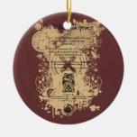 Rey Lear Quarto Front Piece de Shakespeare Ornamento Para Reyes Magos