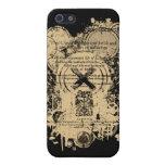 Rey Lear Quarto Front Piece de Shakespeare iPhone 5 Funda