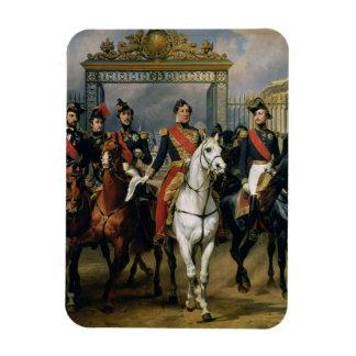 Rey Louis-Felipe (1773-1850) de Francia y la suya Imán
