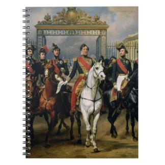 Rey Louis-Felipe 1773-1850 de Francia y la suya Libros De Apuntes