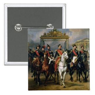 Rey Louis-Felipe (1773-1850) de Francia y la suya Pin