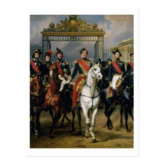 Rey Louis-Felipe (1773-1850) de Francia y la suya Postal