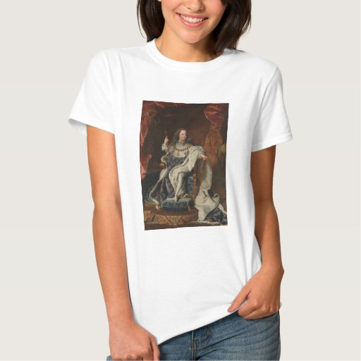 Rey Louis XV como niño de Hyacinthe Rigaud Playera