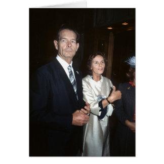 Rey Michael y reina Anne de TRH de Rumania Tarjeta De Felicitación