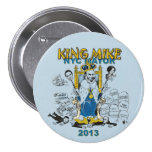 Rey Mike Bloomberg NYC alcalde Pin