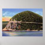 Rey Mountain de la tormenta del río Hudson Nueva Y Impresiones
