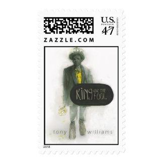 Rey o el tonto (franqueo) - modificado para sellos postales