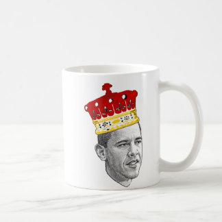 Rey Obama Taza Básica Blanca