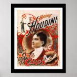 Rey Of Cards de Houdini del vintage del teatro de