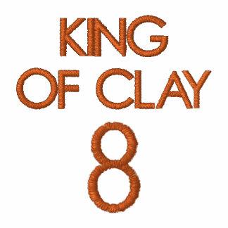 REY OF CLAY 8 SUDADERA BORDADA CON CREMALLERA