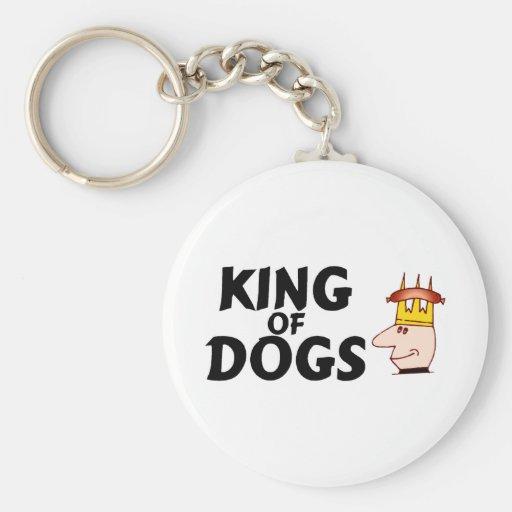 Rey Of Dogs Llavero Redondo Tipo Pin