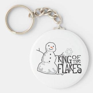 Rey Of Flakes Llavero Redondo Tipo Pin