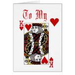 Rey Of Hearts Card Felicitación