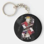 Rey Of Hearts y pirata también Llaveros Personalizados