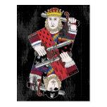 Rey Of Hearts y pirata también Postales