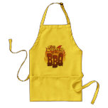 Rey Of The BBQ Apron Delantales
