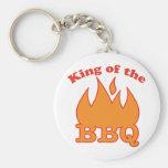 Rey Of The BBQ Llaveros Personalizados