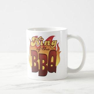 Rey Of The BBQ Mug Taza