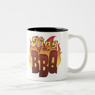 Rey Of The BBQ Mug Taza De Dos Tonos