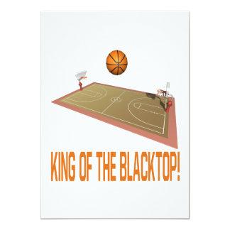 """Rey Of The Blacktop Invitación 5"""" X 7"""""""