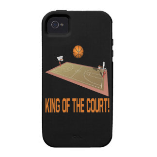 Rey Of The Court iPhone 4 Fundas