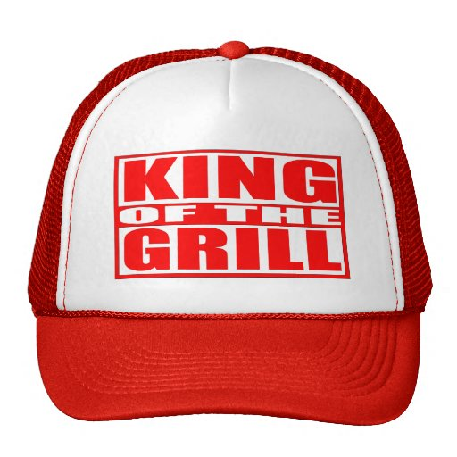 REY OF THE GRILL GORRA