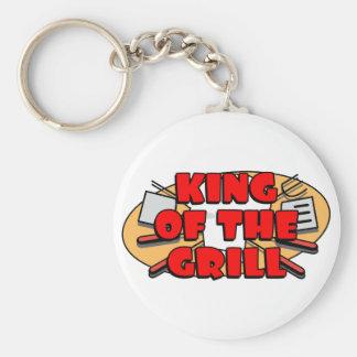 Rey Of The Grill Llavero Personalizado