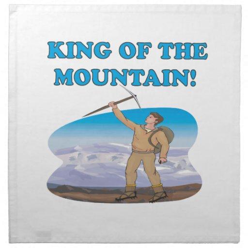 Rey Of The Mountain Servilletas De Papel